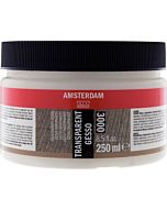 Amsterdam Acrylic Color - Transparent Gesso - 250ml