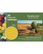 PanPastel Soft Pastels - Set of 20 Colors Landscape