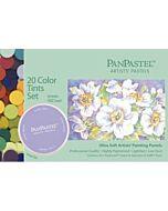 PanPastel Soft Pastels - Set of 20 Colors Tints