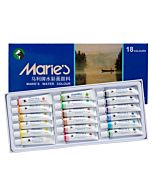 Marie's Extra Fine Watercolor Set of 18 Extra Fine Watercolor 12 ml Tubes