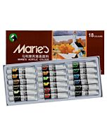 Marie's Extra Fine Acrylic Set of 18 12ml Tubes