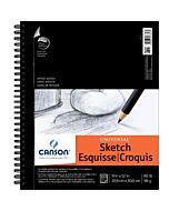 Canson Universal  Heavyweight Sketch Pad 9X12