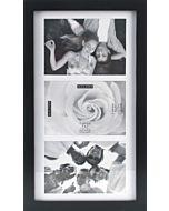 Malden Designs - Linear Collage Frame Black 3 5x7