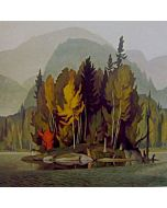 DEMO - Painting - The Colors of Fall Online Class With Derek Leka