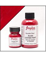 Angelus Acrylic Leather Paint - 1oz - Scarlet Red