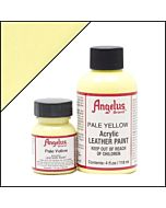 Angelus Acrylic Leather Paint - 1oz - Pale Yellow Paint