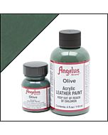 Angelus Acrylic Leather Paint - 1oz - Olive Paint
