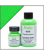 Angelus Acrylic Leather Paint - 1oz - Neon Popsicle Green Paint