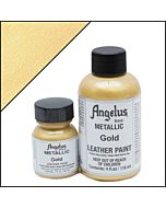 Angelus Acrylic Leather Paint - 1oz - Gold