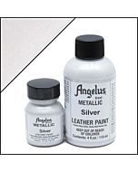 Angelus Acrylic Leather Paint - 1oz - Silver