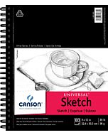 Canson Universal  Heavyweight Sketch Pad 9X12