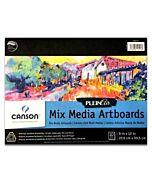 Canson Plein Air Board Pad Mixed Media 8x10