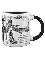Dissappearing Cheshire Cat Mug
