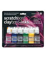 Ampersand Claybord Ink Set of 6