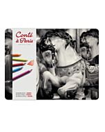 Conte Pastel Pencils Set of 48 - Assorted Colors