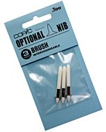 Copic Classic Brush Replacement Nibs - 3 Pack