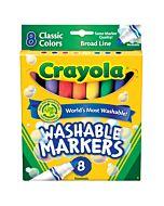 Classic Wash. Broad Mkrs. 8 Ct