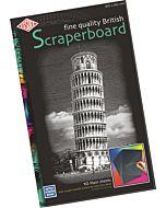 """Plain Black Scratch Board 20x12"""" 10-PAck"""