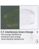 Golden Fluid Acrylic 4oz Bottle - CT Interference Green-Orange