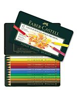 Polychromos Artists' Color Pencils - Tin of 12
