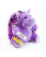 Mini Sequin Pets - Hope the Hippopotamus