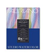Fabriano Studio Watercolor 11x14 140lb Hot Press 50 Sheet Pad