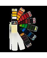 Fan-Pan Watercolor 42 Pan Set + Brush