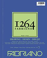 Fabriano 1264 Drawing  Pad Wire Bound 75LB 9x12