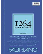 Fabriano 1264 Mix Media Pad Wire Bound 110LB 7x10