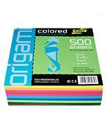 "Global Art Folia Origami Paper Colored Folding Squares 6x6"" - Assorted Colors"
