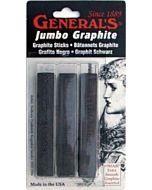 General Jumbo Graphite Sticks Set of 3