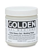 Golden X-Heavy Gel/Molding Paste 16oz Jar