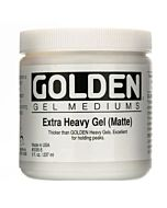 Golden Extra Heavy Gel - Matte 8oz Jar