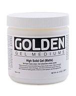 Golden High Solid Gel - Matte 16oz Jar