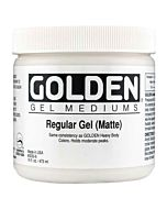 Golden Regular Gel - Matte 8oz Jar