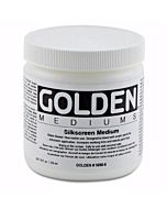 Golden Silkscreen Medium - 8oz Jar