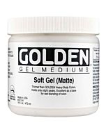 Golden Soft Gel - Matte 16oz Jar