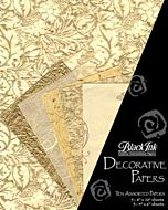 Decorative Paper 10-Pack Golden Glow