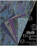 Decorative Paper 10-Pack Beautiful Blues