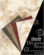 Decorative Paper 10-Pack Natures Naturals