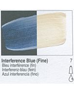 Golden Fluid Acrylic 1oz Bottle - Interference Blue (Fine)
