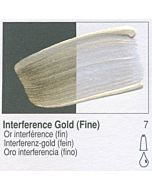 Golden Heavy Body Acrylic 8oz Jar - Interference Gold