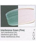 Golden Fluid Acrylic 1oz Bottle - Interference Green (Fine)