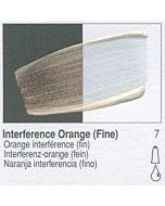 Golden Heavy Body Acrylic 8oz Jar - Interference Orange