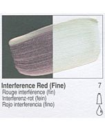 Golden Heavy Body Acrylic 8oz Jar - Interference Red