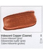 Golden Heavy Body Acrylic 8oz Jar - Iridescent Copper (Coarse)