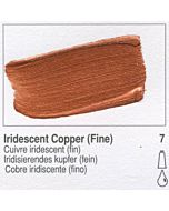 Golden Heavy Body Acrylic 8oz Jar - Iridescent Copper