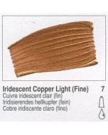 Golden Heavy Body Acrylic 8oz Jar - Iridescent Copper Light