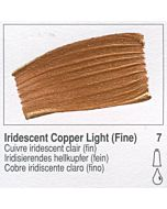 Golden Fluid Acrylic 1oz Bottle - Iridescent Copper Light (Fine)