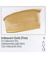Golden Fluid Acrylic 4oz Bottle - Iridescent Gold (Fine)